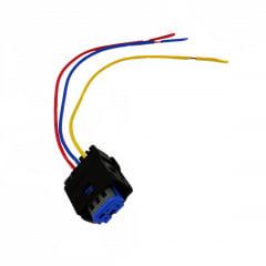 Conector 3 vias  Sensor de Pressão (SENSOR AZUL).